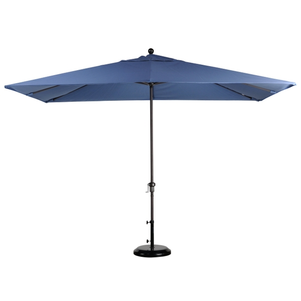11 39 x 8 39 rectangular aluminum market umbrella leisure select