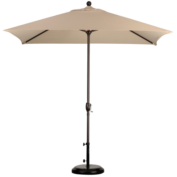 Captivating 8u0027 X 6u0027 Rectangular Market Umbrella