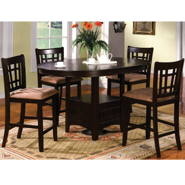 Belford counter height dining leisure select for Counter height dining set