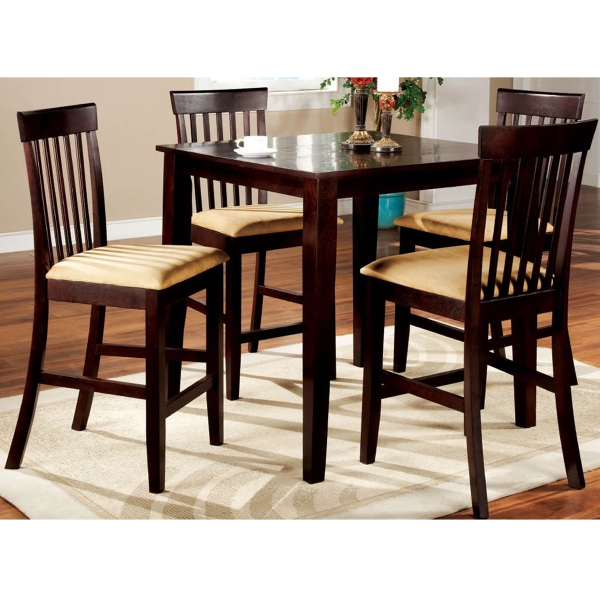 Santa clarita counter height dining leisure select for Pub style kitchen table